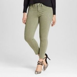 Mossimo High Rise Crop Jegging